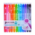 TOMBOW 日本蜻蜓 PLAY COLOR DOT 雙頭彩色筆 GCE-011 12色組